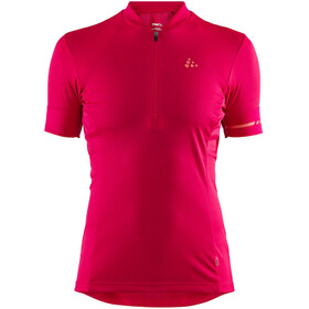 Craft Point Fietsshirt korte mouwen Dames rood
